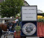 Carl Laemmle honored in a Heimatfest parade