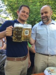 My new German drinking buddy, Gunter Stetter. Prost!